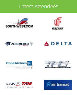 Latest Airline Attendees